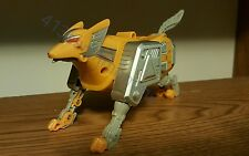 "Power Rangers Lost Galaxy DX ""Yellow Wolf Galactabeast Zord"""