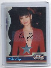 2008 Americana Bai Ling autograph auto worn costume card #214/250 The Crow