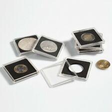 10 Capsules Quadrum pour Pièces  de Collection diamètre 14 à 41 millimètres