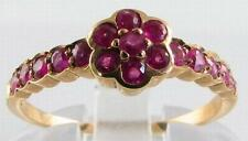 9 Carat Ruby Victorian (1837 - 1901) Fine Rings