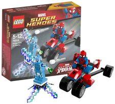 Lego 76014 SPIDERMAN Spider-Trike vs Electro (Marvel Super Heroes). NUEVO, RARO.