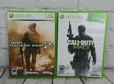 Call of Duty Modern Warfare 2 & 3 (Microsoft Xbox 360) Video Game Lot Complete