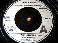 "JULIE ROGERS - THE WEDDING / LOVE LETTERS   7"" VINYL"