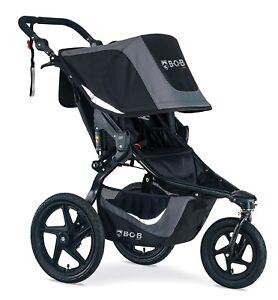 BOB Revolution Flex 3.0 Jogging Stroller Swivel Front Wheel Baby Jogger Black