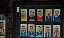 More details for  carreras ltd famous footballers 1934 set of 48