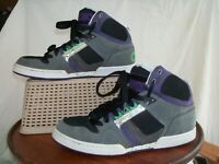 MEN'S OSIRIS STYLE NYC 83 SHOES US 9.5 EU 42.5 LACE UP HIGH TOP