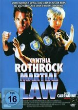 MARTIAL LAW CYNTHIA ROTHROCK CHAD MCQUEEN MARTIAL ART ACTION THRILLER OOP GERMAN