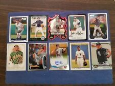 1991-2018 BOWMAN/TOPPS (10-CARD LOT) WITH RC/AUTOGRAPH ORTIZ, CESPEDES, THOMAS