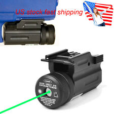 US Powerful Green Dot Laser Sight QD 20mm Rail Mount for Pistol Rifle G17 19 22