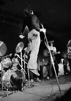 Art print POSTER/ CANVAS  Van Morrison Jumping During Concert