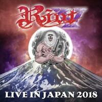 RIOT V - LIVE IN JAPAN 2018 (+ BLUERAY DVD) NEW CD