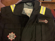 More details for vintage strathclyde fire rescue firefighter boiler suit  all in one never worn