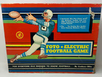 Foto-Electric Football Game by Cadaco 1960 Vintage Parts Repair 20-221