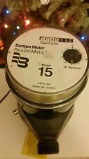 New listing Badger Model 15 Plastic Water Meter two for the price of one