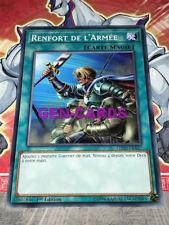 Carte Yu Gi Oh RENFORT DE L'ARMEE LEDD-FRA27 x 3