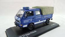 Minichamps 1:43 VW T3 Doka Pritschenwagen THW 400055290 Neu OVP
