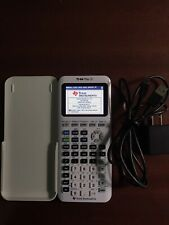 Texas Instruments Ti-84 Plus Ce Graphing Calculator - White