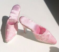 """Doll Shoes Slippers, Slides, Mules PINK LACE FIT CANDI 16"""" Tyler Gene Alex New"""
