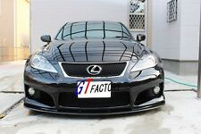 CARBON FRONT SPOILER LIP SPOILER L STYLE FOR 2008-2014 LEXUS IS-F ISF SEDAN ONLY