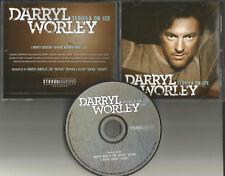 DARRYL WORLEY Tequila on Ice USA PROMO Radio DJ CD single MINT