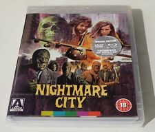 NEW ~ Nightmare City ~ Umberto Lenzi Blu-ray DVD ARROW with Collector's Booklet