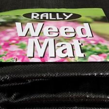 Rally Woven Weedmat Weed Control Mat 1830mm x 50M Landscape Ground Cover New