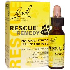 Bach Flower Remedies Rescue Remedy Stress Relief For Pets -10 ml