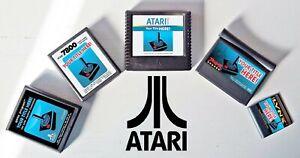Atari Cartridge Label Vinyl Decal Sticker 2600 5200 7800 Jaguar Lynx Custom Game
