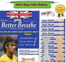 Nasal Strip - Breathe Better *Snoring Aid* + Free Strips - Used by Neymar - 100%