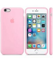 NEW - Genuine Silicone Case for Apple iPhone 6s / 6 in Light Pink