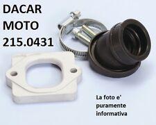 215.0431 COLLETTORE ASPIRAZIONE POLINI APRILIA SR 50 R-FACTORY (Motore Piaggio)