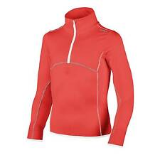 CMP Sweater Dress Shirt S Top Orange Breathable