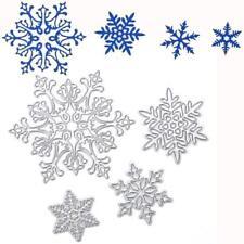 4 x Snowflake Metal Cutting Dies,Stencil,Crafts,Card Making,Scrapbooking,DIY