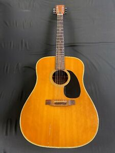 Early VENTURA Bruno Acoustic Guitar V25 Spruce Top Rosewood Fret Board Ping Tunr