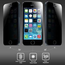 Anti-spy Privacy Tempered Glass Screen Protector for iPhone 5 5S 5C  UK