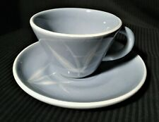 Great Winfield Demitasse Cup Saucer Blue Pacific EUC
