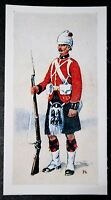 The Black Watch  Royal Highlanders  Egyptian Campaign   Vintage Card  # VGC