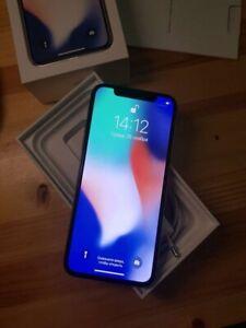 iPhone X Silver 256gb (Unlocked) A1901