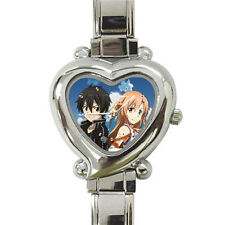 New Sword Art Online heart italian charm watch free shipping