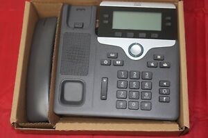 Refurbished Cisco CP-7841-K9 4-Line IP Office Business Phone W/ Stand & Handset