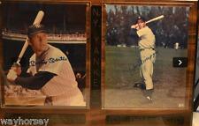 Major League Baseball Autograph Collection-HOF-Baseballs/Bats/Plaques/Artwork
