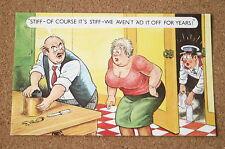 Vintage Postcard: Bamforth 1098, Milkman, Bust Women, Kitchen, Couple, Chaso