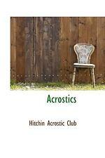 Acrostics: By Hitchin Acrostic Club