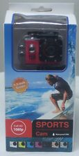 1080p Full HD Sports Cam Waterproof 30 M with 1.5 inch Screen - (New)
