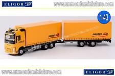 Camion Remorque Volvo FH 4 Transports DOUMEN  ELIGOR - EL 116403 - Echelle 1/43