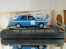 Solido 1858 1/43 - Renault 12 Gordini Racing in the coler Blue with box