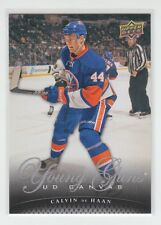 (68620) 2011-12 UPPER DECK CANVAS YOUNG GUNS CALVIN de HAAN #C219
