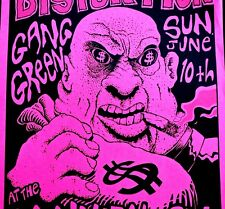 SOCIAL DISTORTION - CANNIBAL CLUB POSTER AUSTIN - RARE TWISTED SCARCE 1990