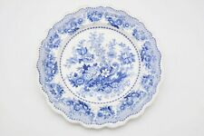 Extremely rare historic Davenport H&H New Orleans Tuscan Rose Transferware 1820