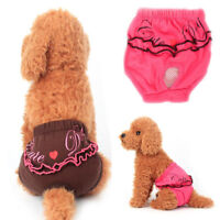 Female Pet Dog Diaper Pants Physiological Sanitary Puppy Short Underwear Fashion